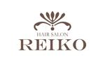 y83mさんの美容室「HAIR SALON REIKO」のロゴへの提案