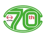iwaichiさんの広島日野自動車株式会社の70周年記念ロゴ作成への提案