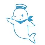 【ご提案をお願いします!】愛嬌たっぷりの白イルカ「ベルーガ」のイラストへの提案