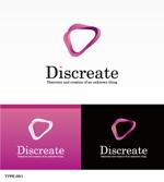 m-spaceさんの音楽分野でのベンチャー起業、ディスクリエイト株式会社のロゴ作成への提案