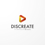 Saku-TAさんの音楽分野でのベンチャー起業、ディスクリエイト株式会社のロゴ作成への提案