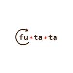 rits_coさんのブランドアパレルリユースSHOP「fu・ta・ta」のロゴデザインへの提案