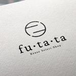 haru_DesignさんのブランドアパレルリユースSHOP「fu・ta・ta」のロゴデザインへの提案
