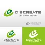aoomae1588さんの音楽分野でのベンチャー起業、ディスクリエイト株式会社のロゴ作成への提案