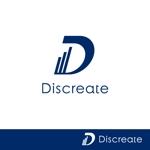 vz-tさんの音楽分野でのベンチャー起業、ディスクリエイト株式会社のロゴ作成への提案