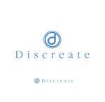 theta1227さんの音楽分野でのベンチャー起業、ディスクリエイト株式会社のロゴ作成への提案