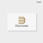 ahiruさんの音楽分野でのベンチャー起業、ディスクリエイト株式会社のロゴ作成への提案