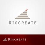qo_opさんの音楽分野でのベンチャー起業、ディスクリエイト株式会社のロゴ作成への提案