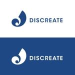 qtoonさんの音楽分野でのベンチャー起業、ディスクリエイト株式会社のロゴ作成への提案