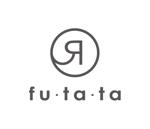 nobdesignさんのブランドアパレルリユースSHOP「fu・ta・ta」のロゴデザインへの提案
