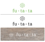 gomazuki1さんのブランドアパレルリユースSHOP「fu・ta・ta」のロゴデザインへの提案