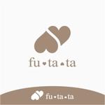 drkigawaさんのブランドアパレルリユースSHOP「fu・ta・ta」のロゴデザインへの提案