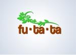 pa-ru_shou0518さんのブランドアパレルリユースSHOP「fu・ta・ta」のロゴデザインへの提案