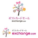 kyk75さんの「ギフトカードモールexchange.com」のロゴ作成への提案