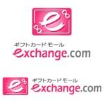 artandnaoさんの「ギフトカードモールexchange.com」のロゴ作成への提案