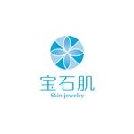 toto046さんの「宝石肌 (Skin jewelry)」のロゴ作成への提案