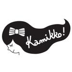 8hachi8さんのヘアアクセサリーWebショップ(kamikko!カミッコ)のロゴ制作をお願いいたします!シンプルな北欧系でへの提案