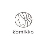 creyonさんのヘアアクセサリーWebショップ(kamikko!カミッコ)のロゴ制作をお願いいたします!シンプルな北欧系でへの提案