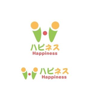 Yolozuさんの福祉用具・介護リフォーム専門店「ハピネス」のロゴへの提案