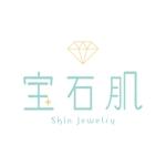 mofu_locoさんの「宝石肌 (Skin jewelry)」のロゴ作成への提案