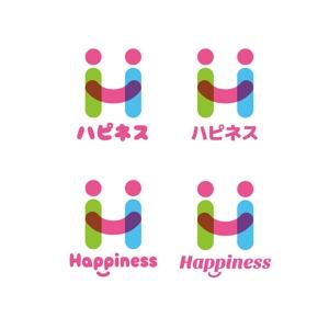 pekoodoさんの福祉用具・介護リフォーム専門店「ハピネス」のロゴへの提案