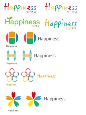 e-netsさんの福祉用具・介護リフォーム専門店「ハピネス」のロゴへの提案