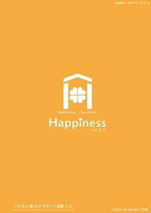 ayatarou1999さんの福祉用具・介護リフォーム専門店「ハピネス」のロゴへの提案