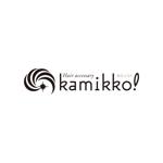 d-o2さんのヘアアクセサリーWebショップ(kamikko!カミッコ)のロゴ制作をお願いいたします!シンプルな北欧系でへの提案