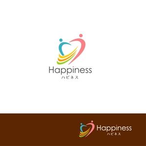 mu-ra-raさんの福祉用具・介護リフォーム専門店「ハピネス」のロゴへの提案