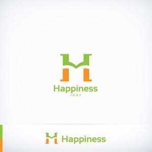 RIKU5555さんの福祉用具・介護リフォーム専門店「ハピネス」のロゴへの提案