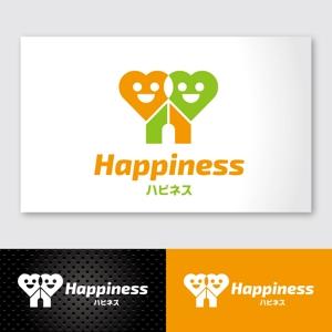 ogikenさんの福祉用具・介護リフォーム専門店「ハピネス」のロゴへの提案