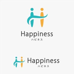 AmberDESIGNさんの福祉用具・介護リフォーム専門店「ハピネス」のロゴへの提案