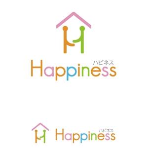 oo_designさんの福祉用具・介護リフォーム専門店「ハピネス」のロゴへの提案