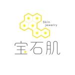 saituさんの「宝石肌 (Skin jewelry)」のロゴ作成への提案