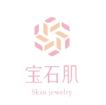 bubuさんの「宝石肌 (Skin jewelry)」のロゴ作成への提案