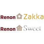 「Renon Zakka & Renon Sweet」のロゴ作成への提案