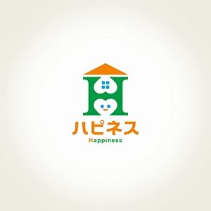 nobuworksさんの福祉用具・介護リフォーム専門店「ハピネス」のロゴへの提案