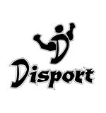 ジムの運営や、スポーツ、フィットネスに関わる『Disport』のロゴへの提案