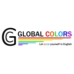 colorpointさんの英語教室「GLOBAL COLORS」のロゴへの提案