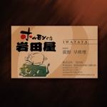 katsu31さんの(株)岩田屋の名刺デザインへの提案