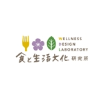 harukichiiiさんの地域活性(6次産業)支援事務所 食と生活文化研究所 Wellness Design Laboratory ロゴへの提案