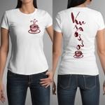 ronsunnさんのCaféスタッフのユニフォーム Tシャツデザインへの提案