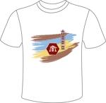 AoNekoさんのCaféスタッフのユニフォーム Tシャツデザインへの提案