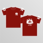 dexter_works3399さんのCaféスタッフのユニフォーム Tシャツデザインへの提案