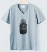 ramune33さんのCaféスタッフのユニフォーム Tシャツデザインへの提案