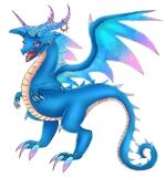 ドラゴンのイラスト シルバーアクセサリーブランドへの提案