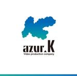 worker1311さんの映像制作会社「映像制作 azur.K」のロゴへの提案
