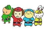furuzaruさんの春日丘動物病院(犬、猫、うさぎ、小鳥)のキャラクターデザインへの提案