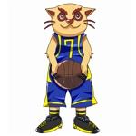 ゲームアプリ「日本バスケ頂上決戦」のキャラクターデザインへの提案