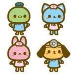 yumikuro8さんの春日丘動物病院(犬、猫、うさぎ、小鳥)のキャラクターデザインへの提案